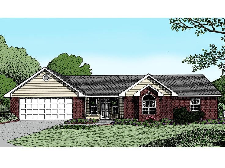 Traditional Home Plan, 044H-0004