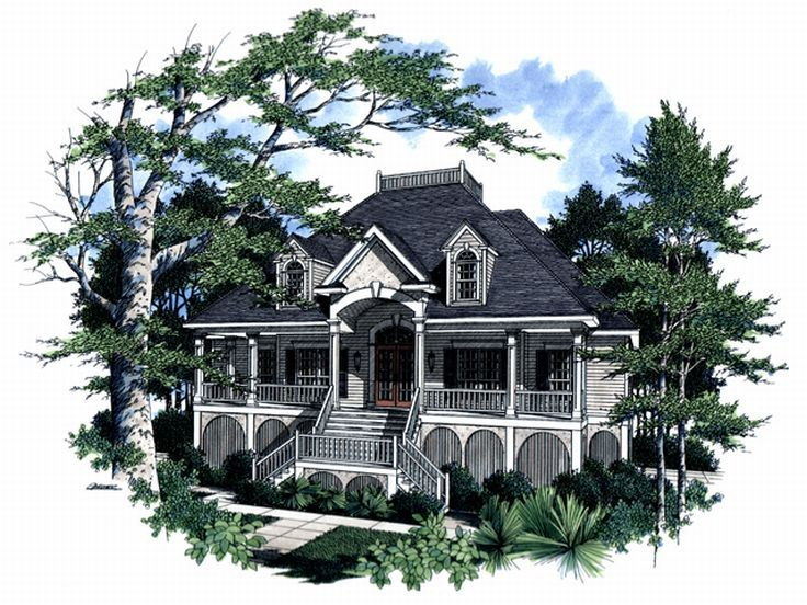 Premier Luxury Home Plan, 017H-0013