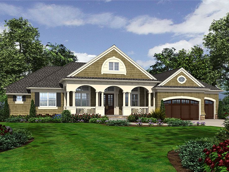 Ranch Home Plan, 035H-0108