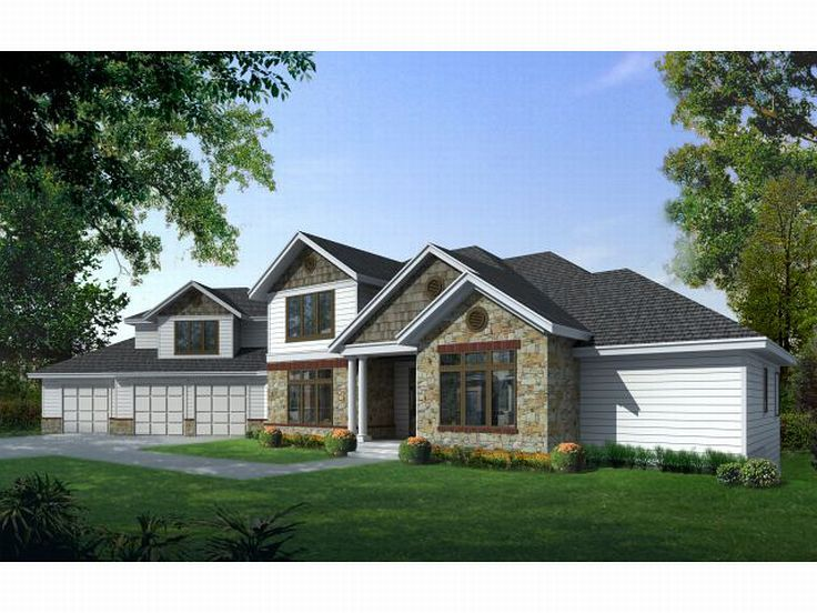 Luxury Home Plan, 026H-0116