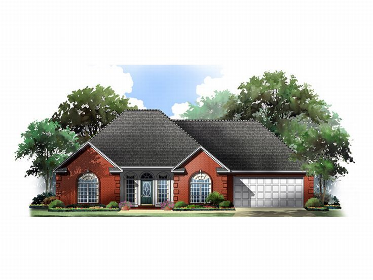 Affordable Home Plan, 001H-0026