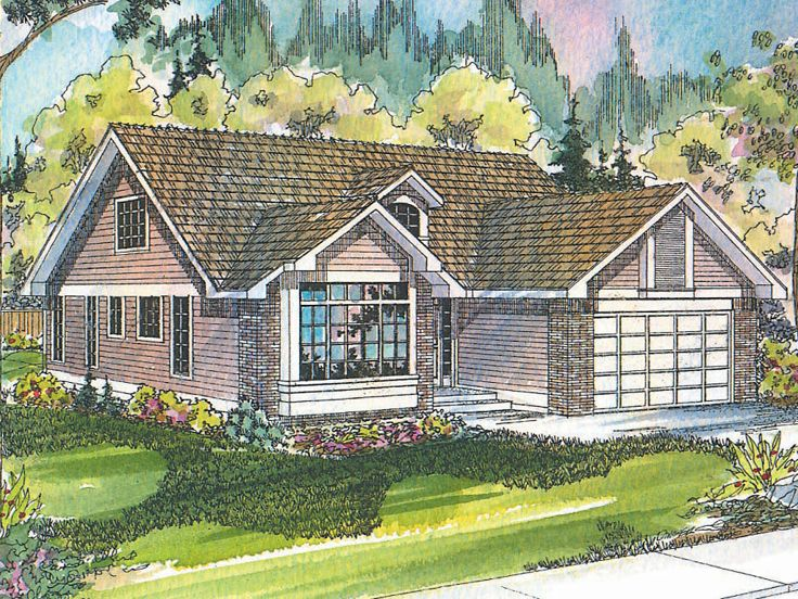 Traditional House Plan, 051H-0002