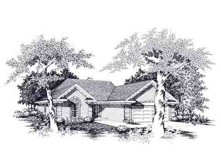 Traditional House Plan, 061H-0009