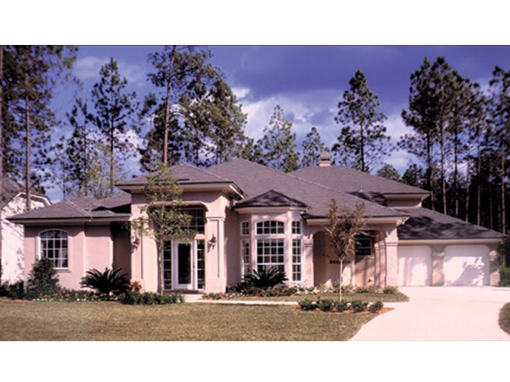 Sunbelt Home Plan, 043H-0143