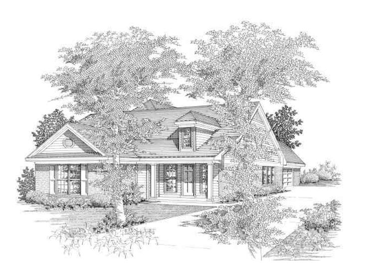 Affordable House Plan, 061H-0015