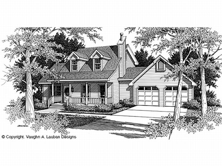 2-Story Home Plan, 004H-0096