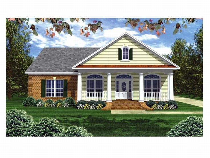 One-Story House Plan, 001H-0090