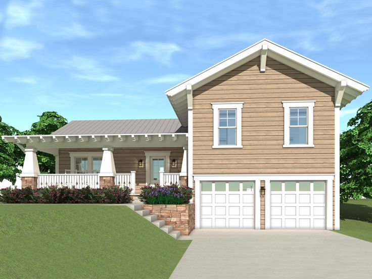Craftsman House Plan, 052H-0026