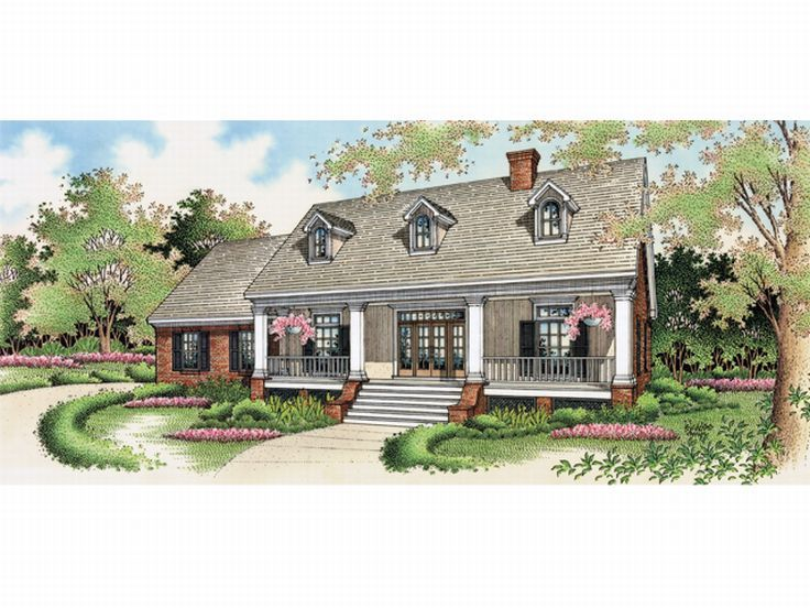 Country European Home, 021H-0082