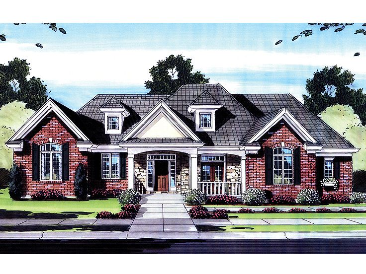 Ranch House Plan, 046H-0038
