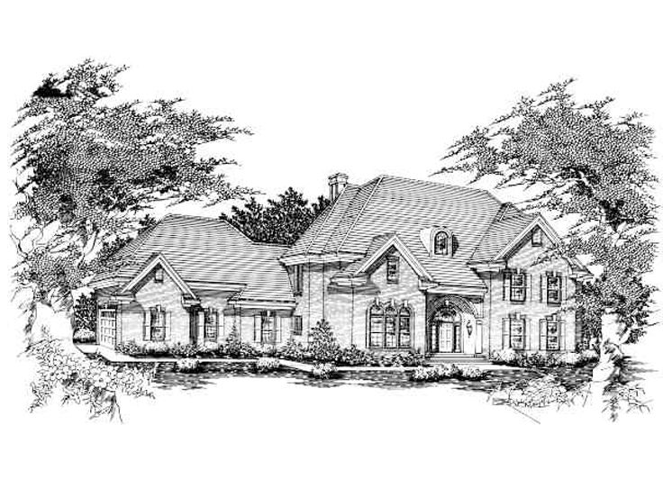 Luxurious Home Plan, 061H-0150