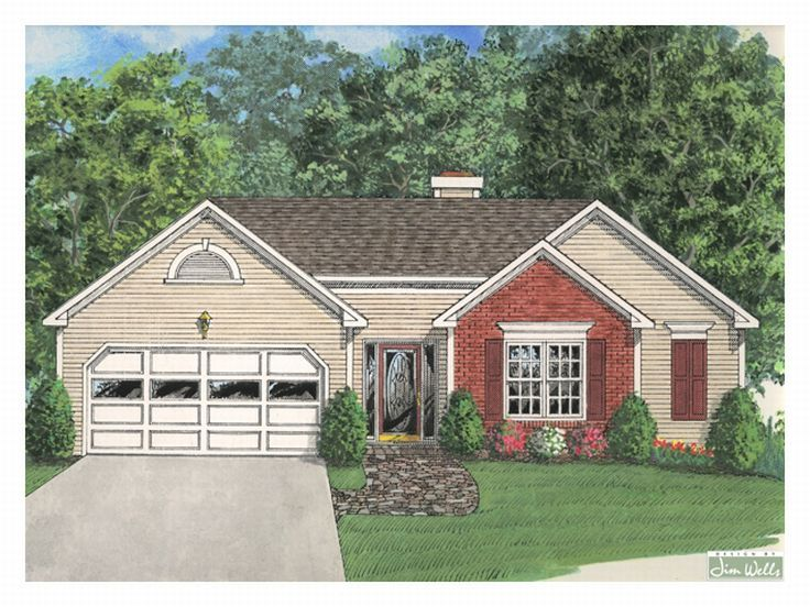 Small House Plan, 007H-0008