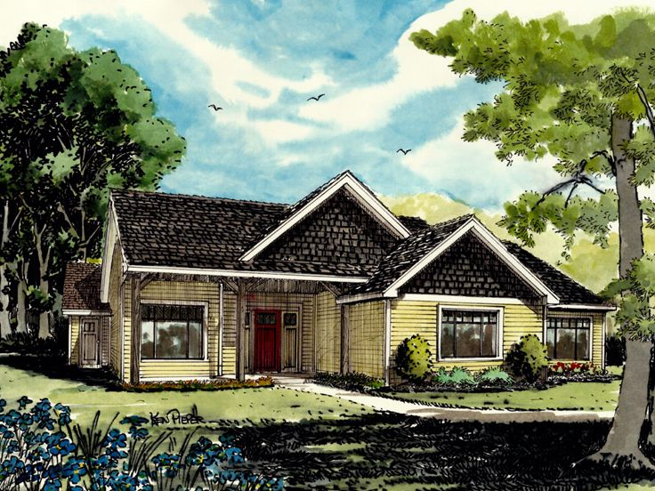 Country House Plan, 066H-0004