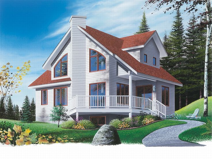 Vacation Home, Front/Left, 027H-0068
