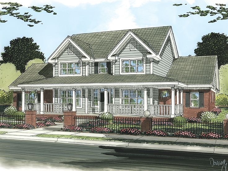 Country House Plan, 059H-0112