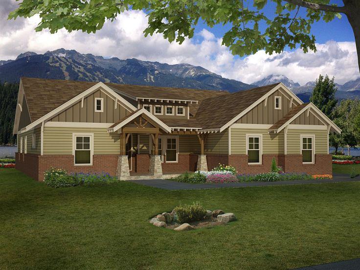 One-Story Northwestern Home