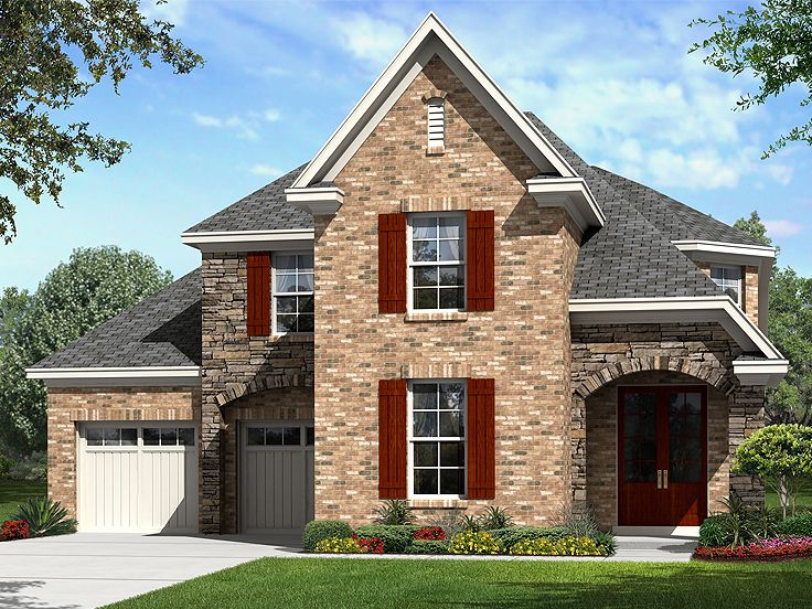 Two-Story House Design, 061H-0185
