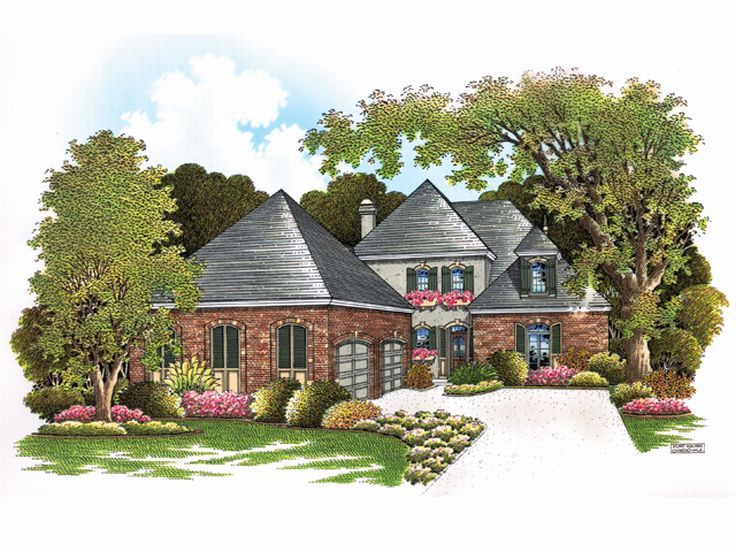 2-Story Home Plan, 021H-0167