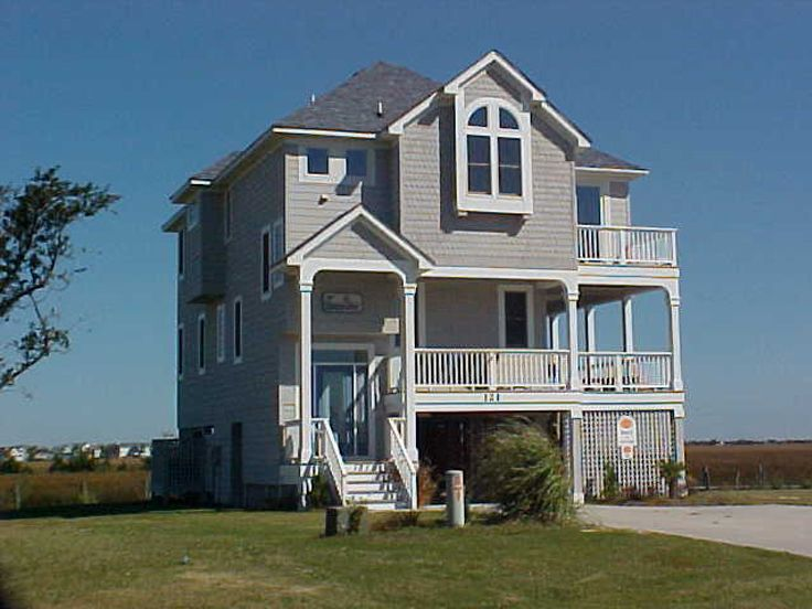 Gallery narrow lot beach house plans Coastal home plans narrow lots