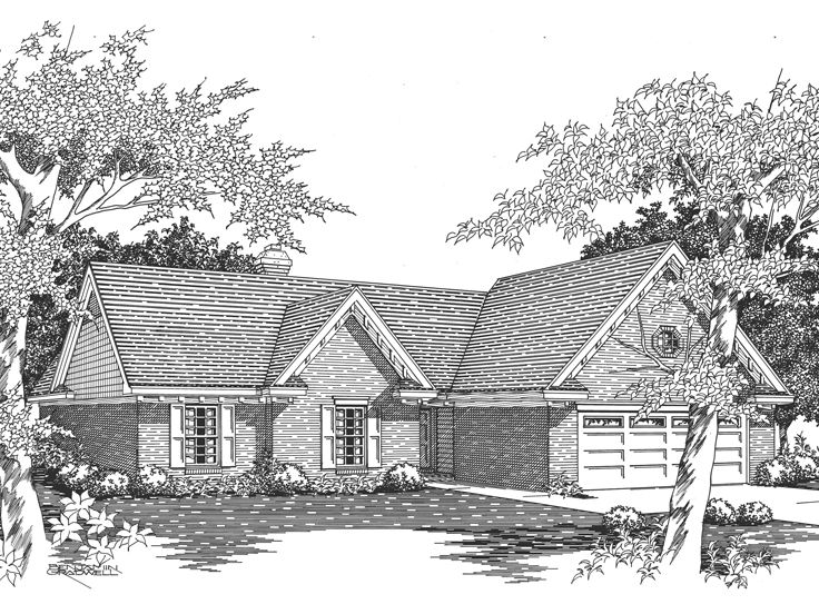 Small House Plan, 061H-0024