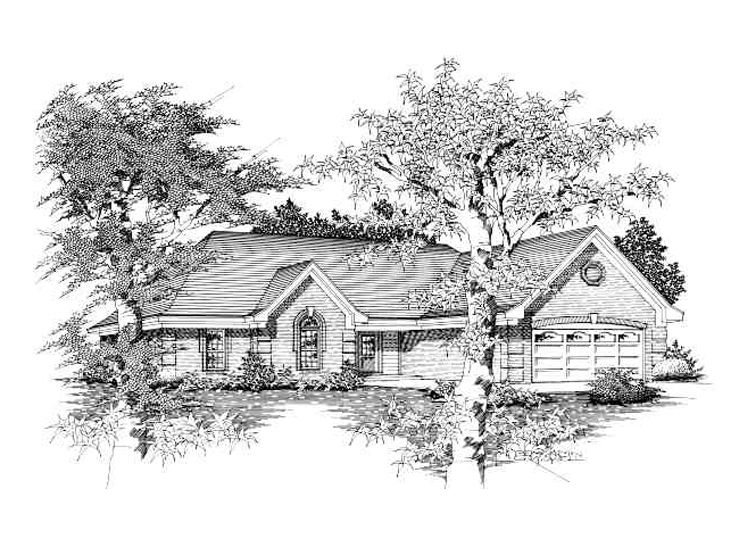 Affordable Home Plan, 061H-0044