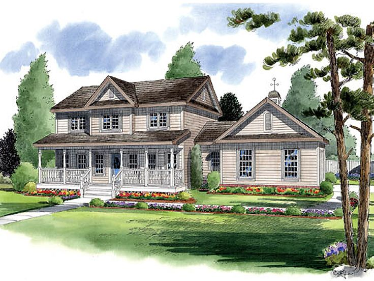Country House Plan, 047H-0081