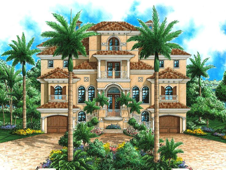 Premier Luxury Home Plan, 037H-0123