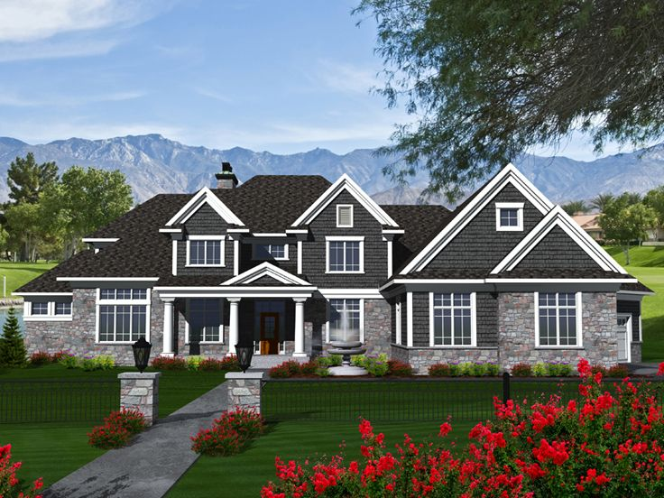 Two-Story House Plan, 020H-0336