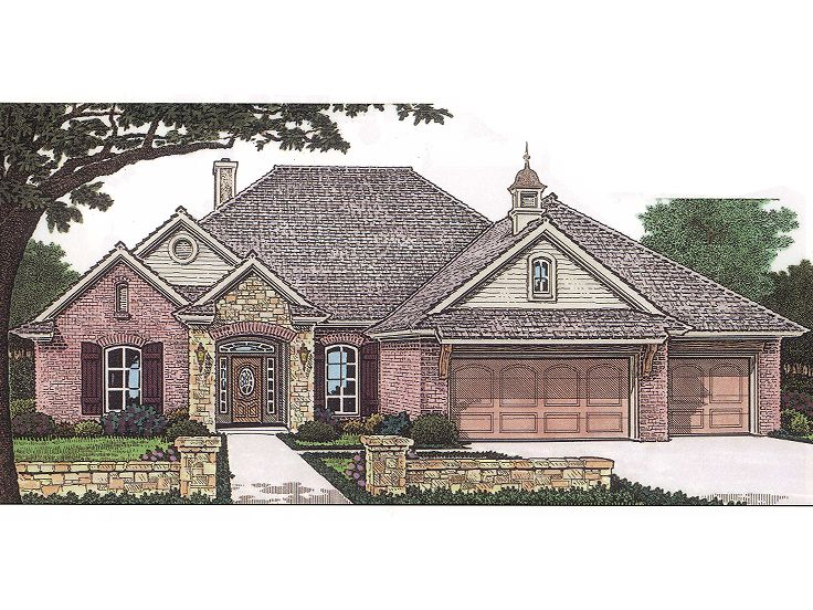 European Home Plan, 002H-0049