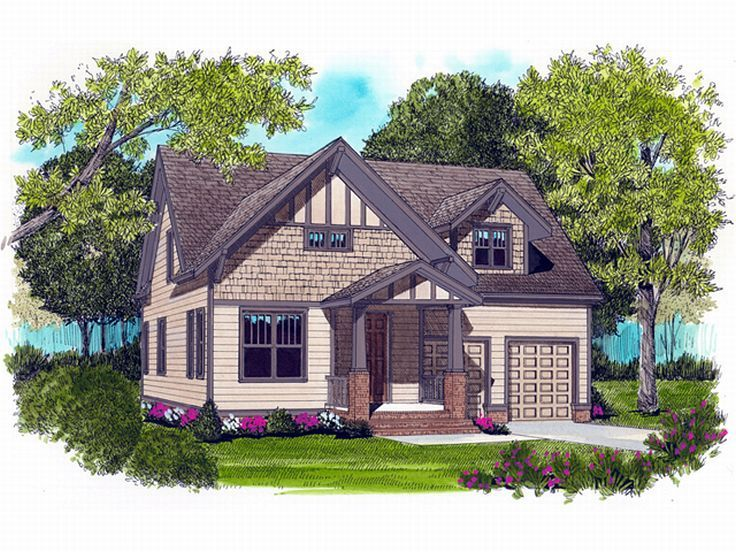 Craftsman Home Design, 029H-0012