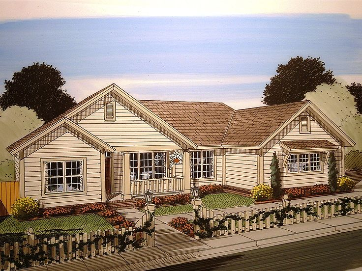 Small Ranch House Plan, 059H-0156