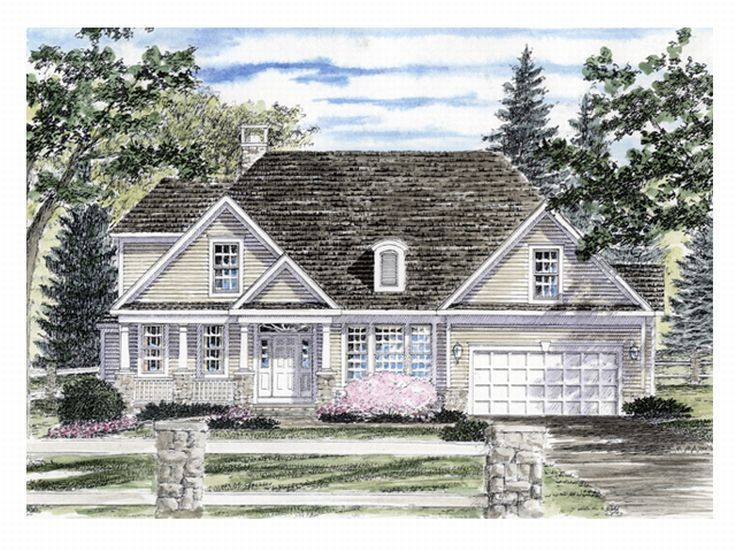 2-Story House Plan, 014H-0026