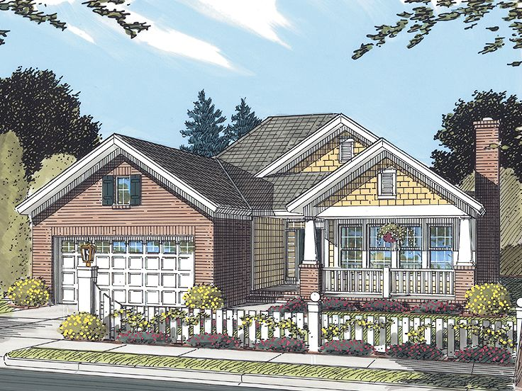 Small House Plan, 059H-0103