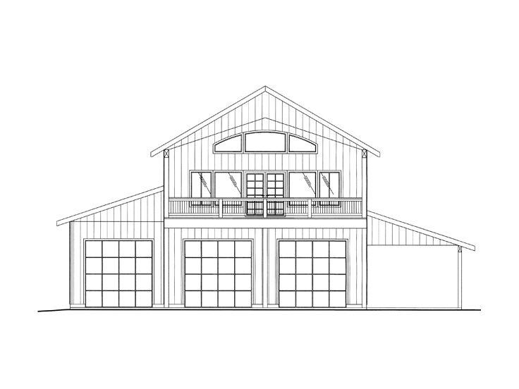 Plan 012g 0120 find unique house plans home plans and for Unique garage apartment plans