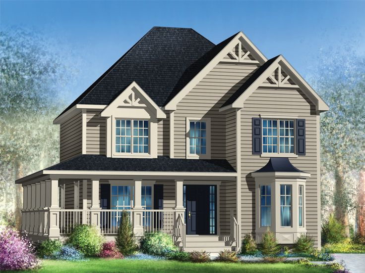 Country House Plan, 072H-0161