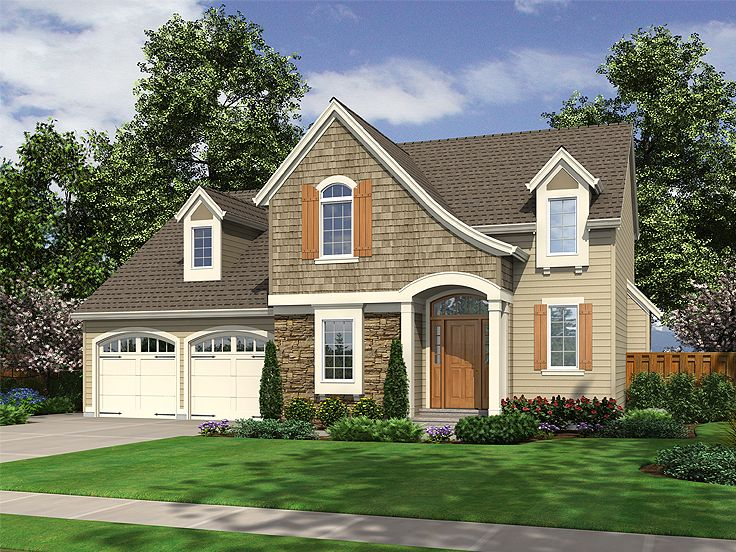 European House Plan, 046H-0067