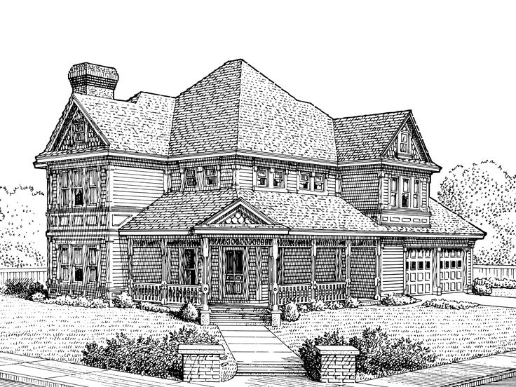 Victorian House, 054H-0087