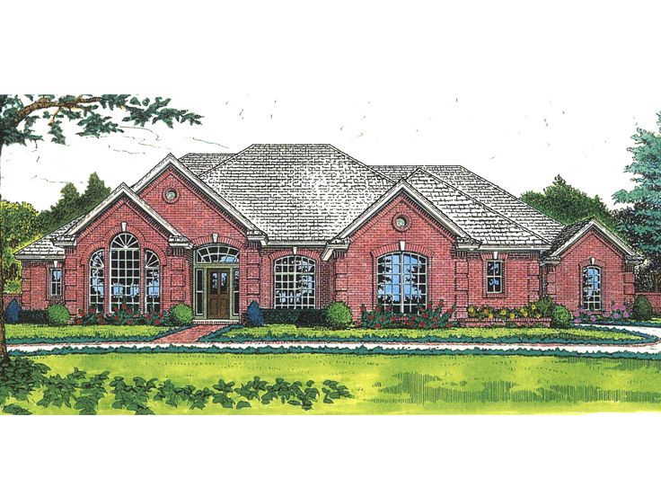 Traditional House Plan, 002H-0062