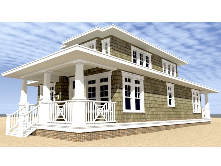 Narrow beach house plans home mansion for Narrow beach house