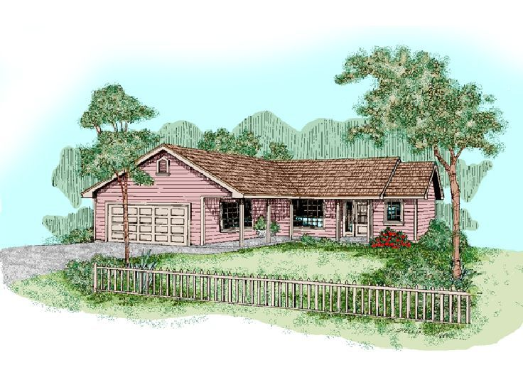 Small Home Plan, 013H-0028