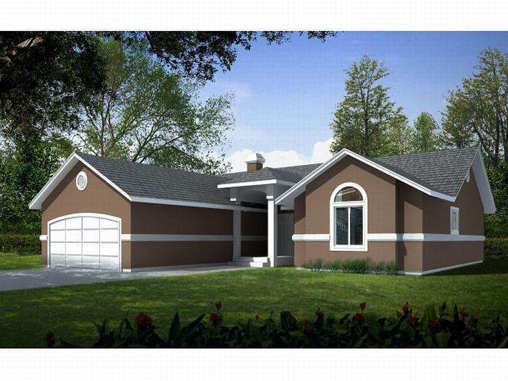 Affordable House Plan, 026H-0014