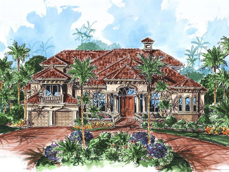 Florida Home Design, 037H-0051