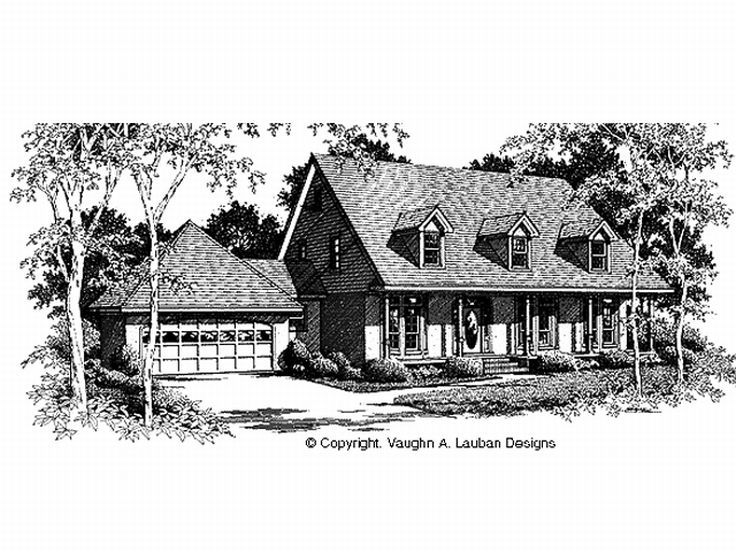 Country House Plan, 004H-0086