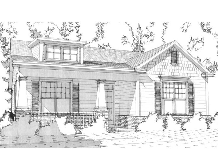 Empty-Nester House Plan, 073H-0127