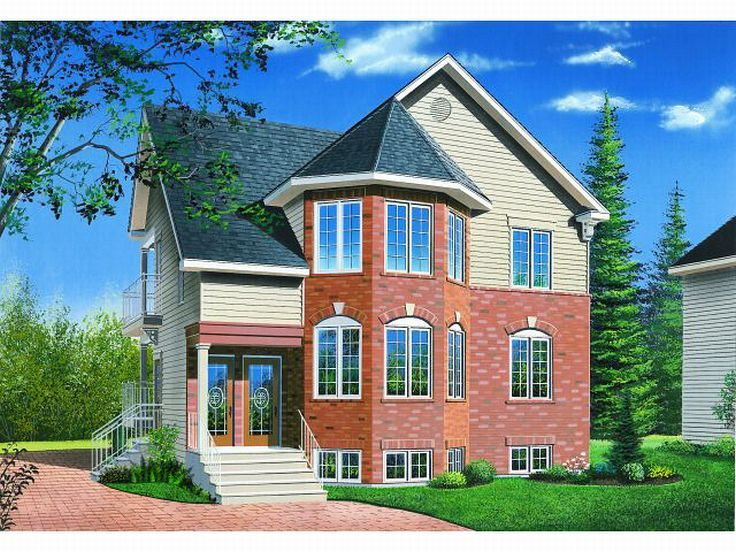 Triplex House Plan, 027M-0015