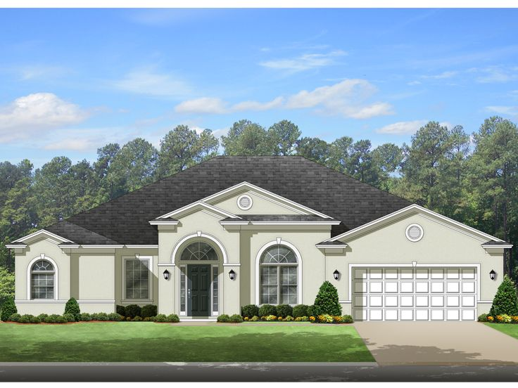 Luxury House Plan, 064H-0084