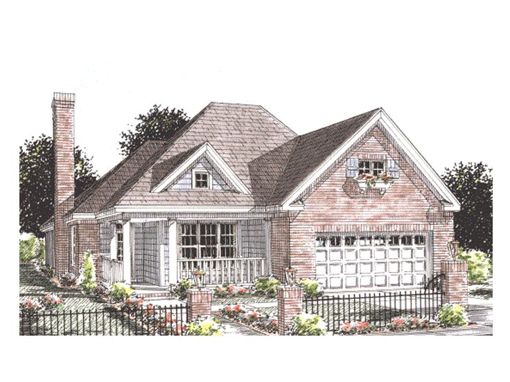 Empty nester house plans one story empty nester home for Small empty nester home plans
