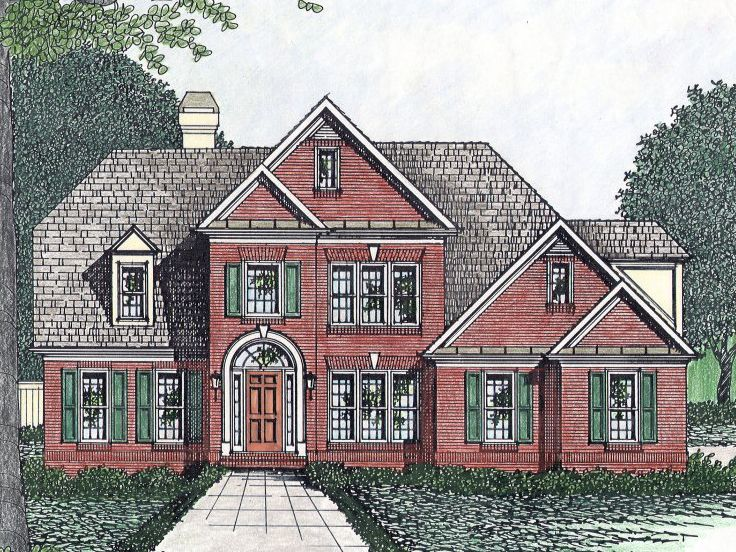 Traditional House Plan, 045H-0054