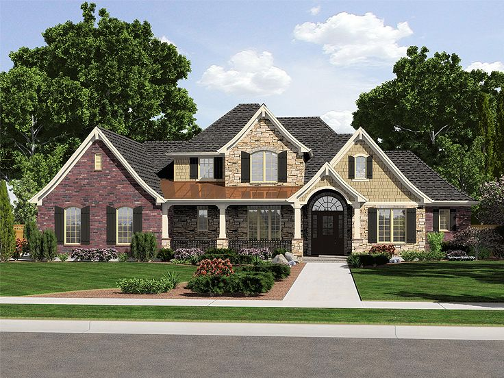 Euroepan House Design, 046H-0105