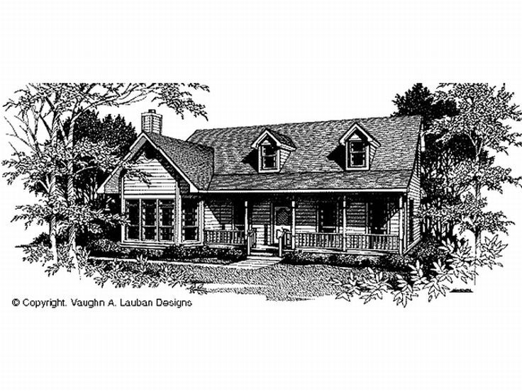 2-Story House Plan, 004H-0085